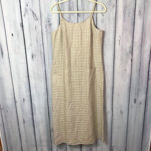 Althuser Dress 100% Linen with Rope like Straps
